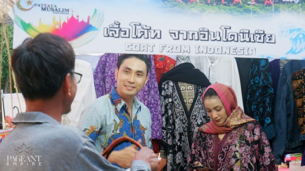 Elardy-Tan-Manhunt-International-Indonesia-2019-dan-Fitriyah-Miss-Runway-Model-Universe-Indonesia-2020-Pattaya-Muslim-Festival-2020
