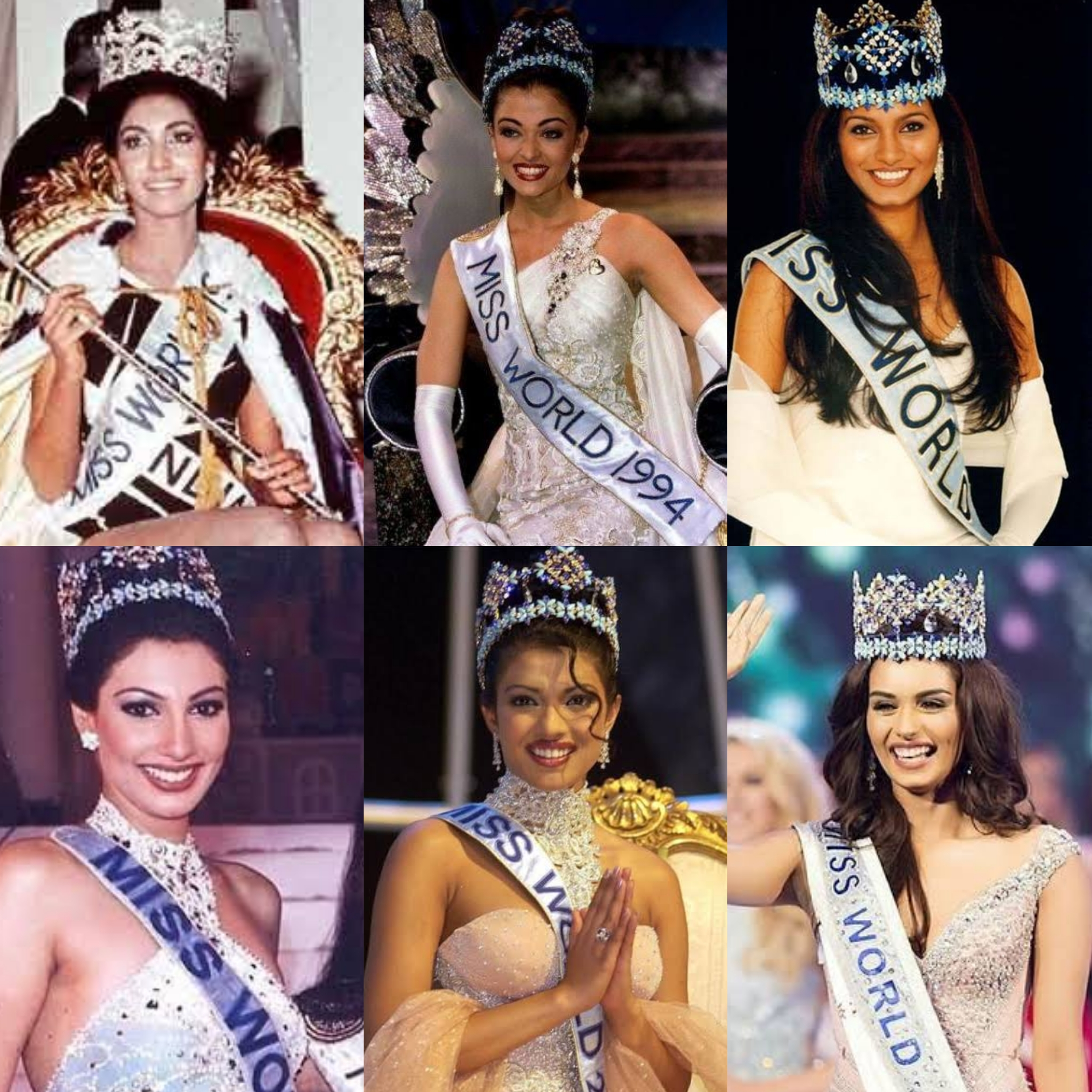 Reita-Faria-Miss-World-1966-Aishwarya-Rai-Miss-World-1994-Diana-Hayden-Miss-World-1997-Yukta-Mookhey-Miss-World-1999-Priyanka-Chopra-Miss-World-2000-Manushi-Chhillar-Miss-World-2017