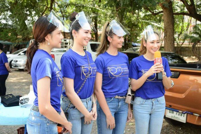 Kekompakan-Lintas-Pageants-Thailand-Perang-Lawan-Covid19