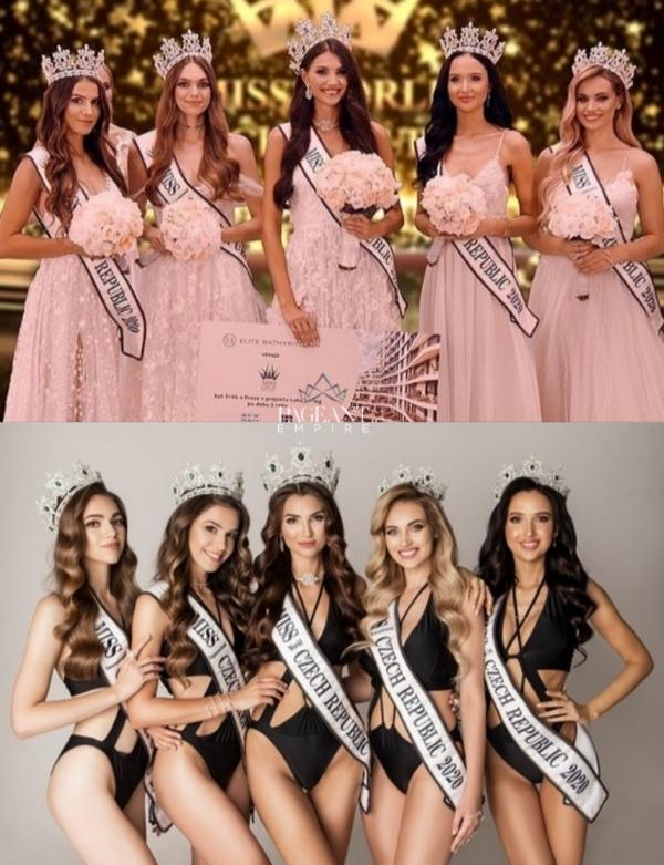 Karolina-Kopincova-Miss-Czech-Republic-2020-Miss-World-Czech-Republic-2020-Angelica-Kostyshynova-1st-runner-up-Miss-Supranational-Czech-Republic-2020-Natalie Kocendova-2nd-runner-up-Miss-International-Czech-Republic-2020-Barbora-Aglerova-3rd-runner-up-Miss-Grand-International-Czech-Republic-2020-Veronika-Smidova-Miss-Intercontinental-Czech-Republic-2020