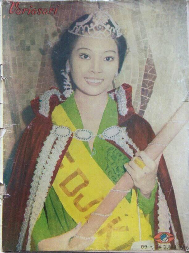 Mieke-Miss-Campus-Princess-Yogyakarta-1970