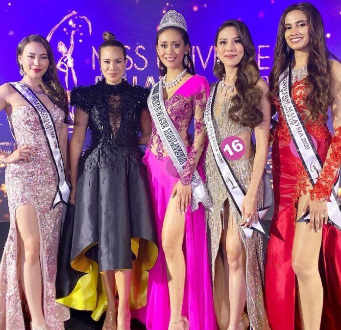 Francisca-Luhong-Wanita-Asli-Dayak-Raih-Mahkota-Miss-Universe-Malaysia-2020