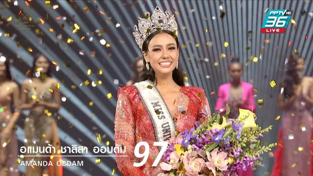 Gadis-Keturunan-Kanada- Amanda-Obdam-Winner-Miss-Universe-Thailand-2020