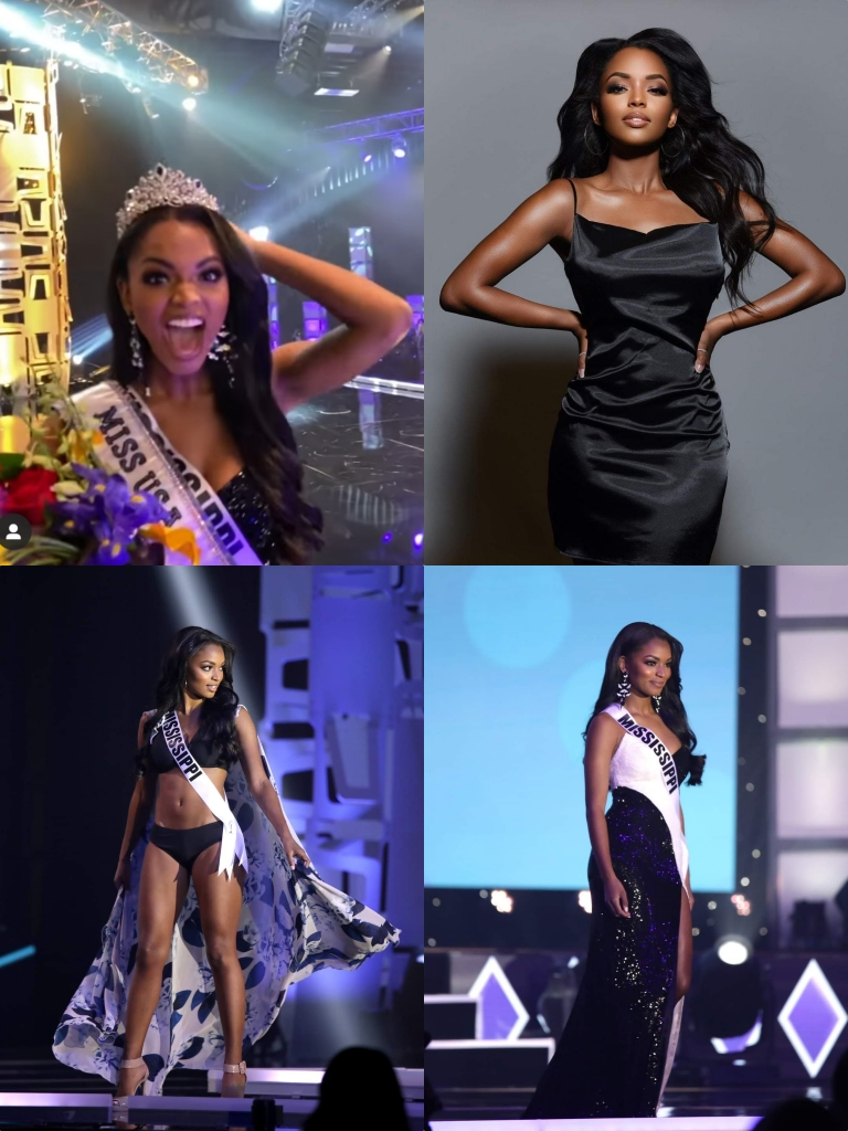 Wanita-Afro-Asya-Danielle-Branch-Winner-Miss-USA-2020
