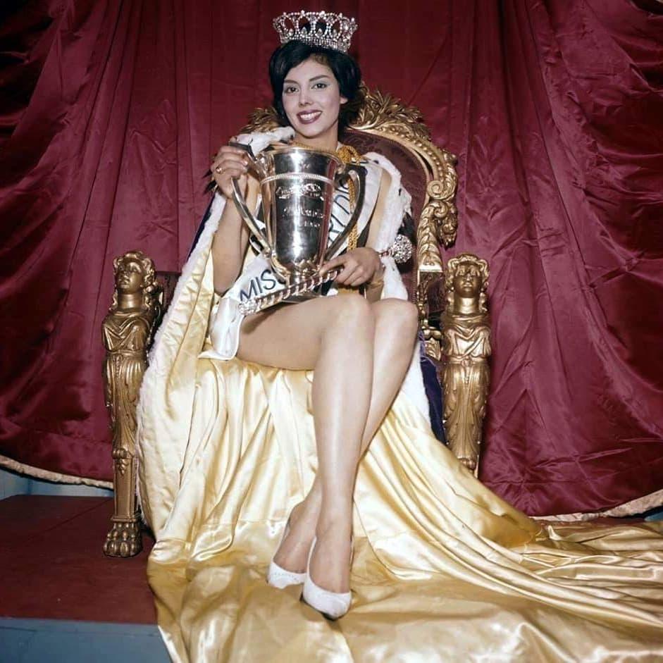 Norma-Gladys-Cappagli-Miss-World-1960-meninggal-dunia