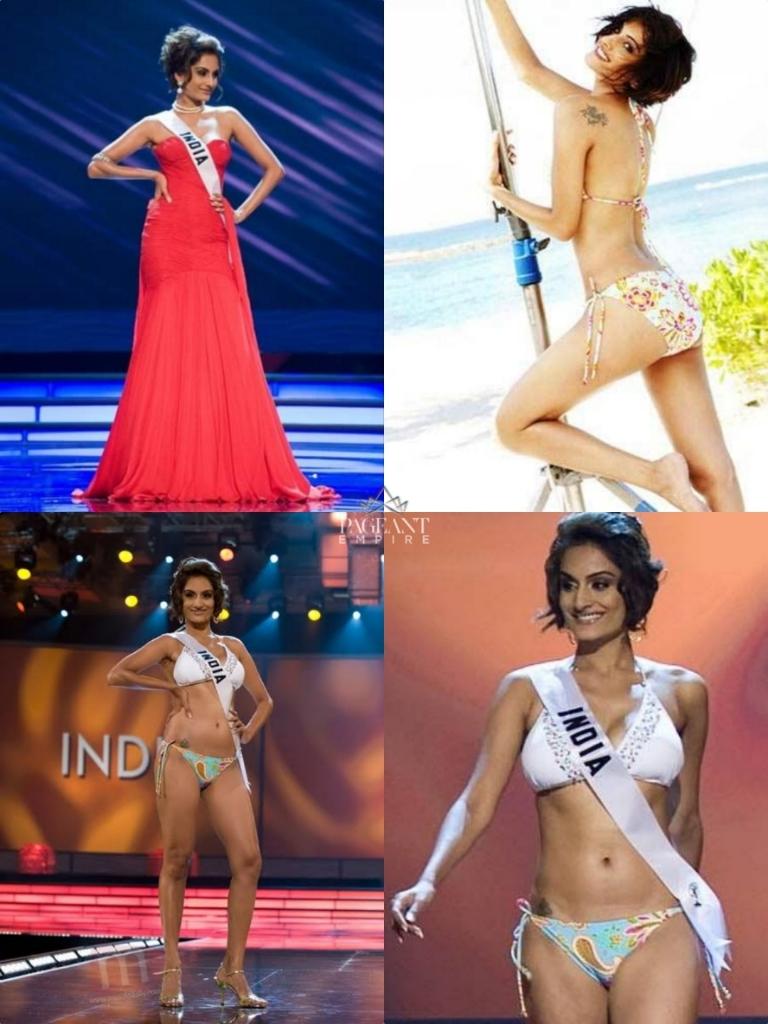 Ekta-Chowdhry-Miss-Universe-India-2009