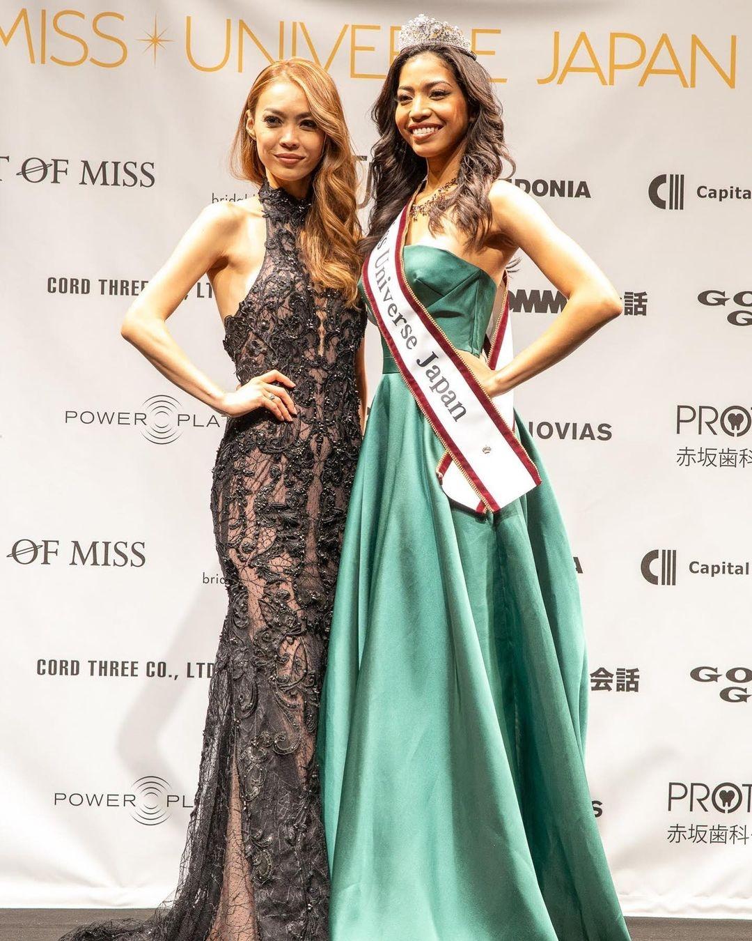 Hiroko Mima Miss Universe Japan 2008