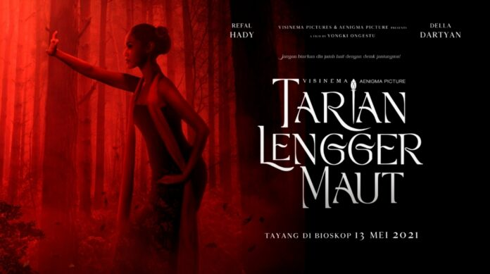 Menyambut-Lebaran-Della-Dartyan-Aktris-dan-Puteri-Indonesia-Banten-Rilis-Film-Tarian-Lengger-Maut